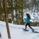 REI offers a beginner's guide to snowshoeing, a great way to keep in shape in the winter with a minimal equipment investment. Follow the guidelines for hiking—keep your distance, bring a mask with you, and stick close to home.