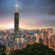 Taipei, TaiwanHeight in meters: 508Height in feet: 1,667Floors: 101Year completed: 2004Office