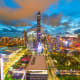 Shenzhen, ChinaHeight in meters: 599.1Height in feet: 1,965Floors: 115Year completed: 2017Office