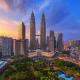 Kuala Lumpur, MalaysiaHeight in meters: 451.9Height in feet: 1,483Floors: 88Year completed: 1998Office