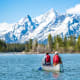 Grand Teton is rich with wildlife, pristine lakes and alpine terrain, and has hundreds of miles of trails. It is great for hiking, biking, fishing boating and camping.