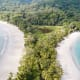 One of Costa Rica's most popular beaches, Playa Manuel Antonio frequently hosts parties and festivals, and it is an ideal destination for avid surfers, according to TripAdvisor. The beach is inside a national park of the same name.