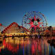 The original idea behind this park was to encapsulate the history and culture of the state of California in one park, to keep guests from going off-site and spending their money around the rest of the state. It featured a replica Golden Gate Bridge and Hollywood Land.