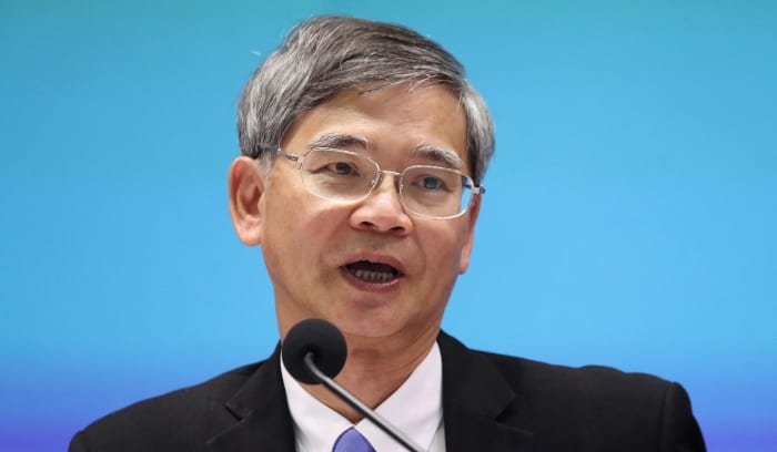 Secretary for Labour and Welfare Law Chi-kwong. Photo: K. Y. Cheng