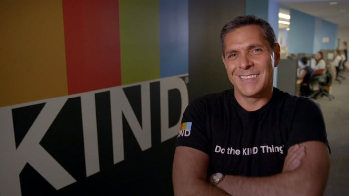 Daniel Lubetzky is the founder of KIND snacks.