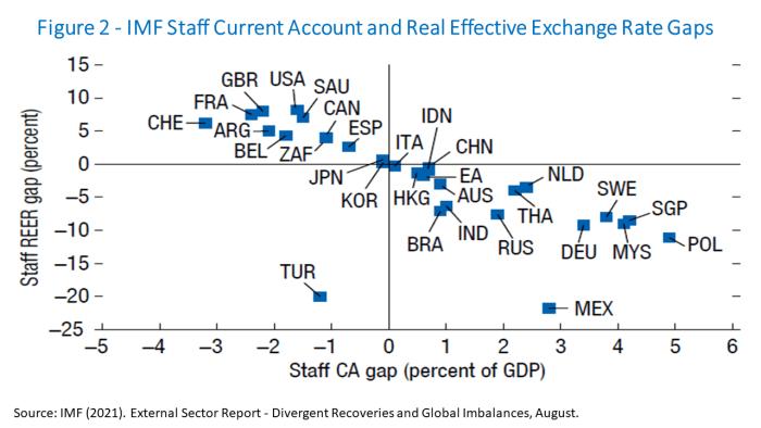 Gli squilibri globali e l'epidemia agosto 2021 Figura 2