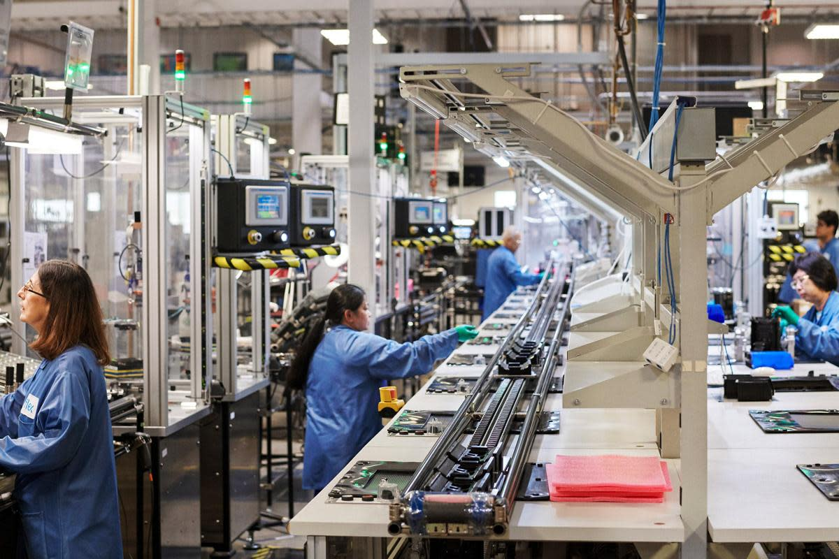 A MacPro manufacturing facility