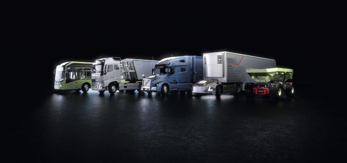 The future of trucking, from Volvo.