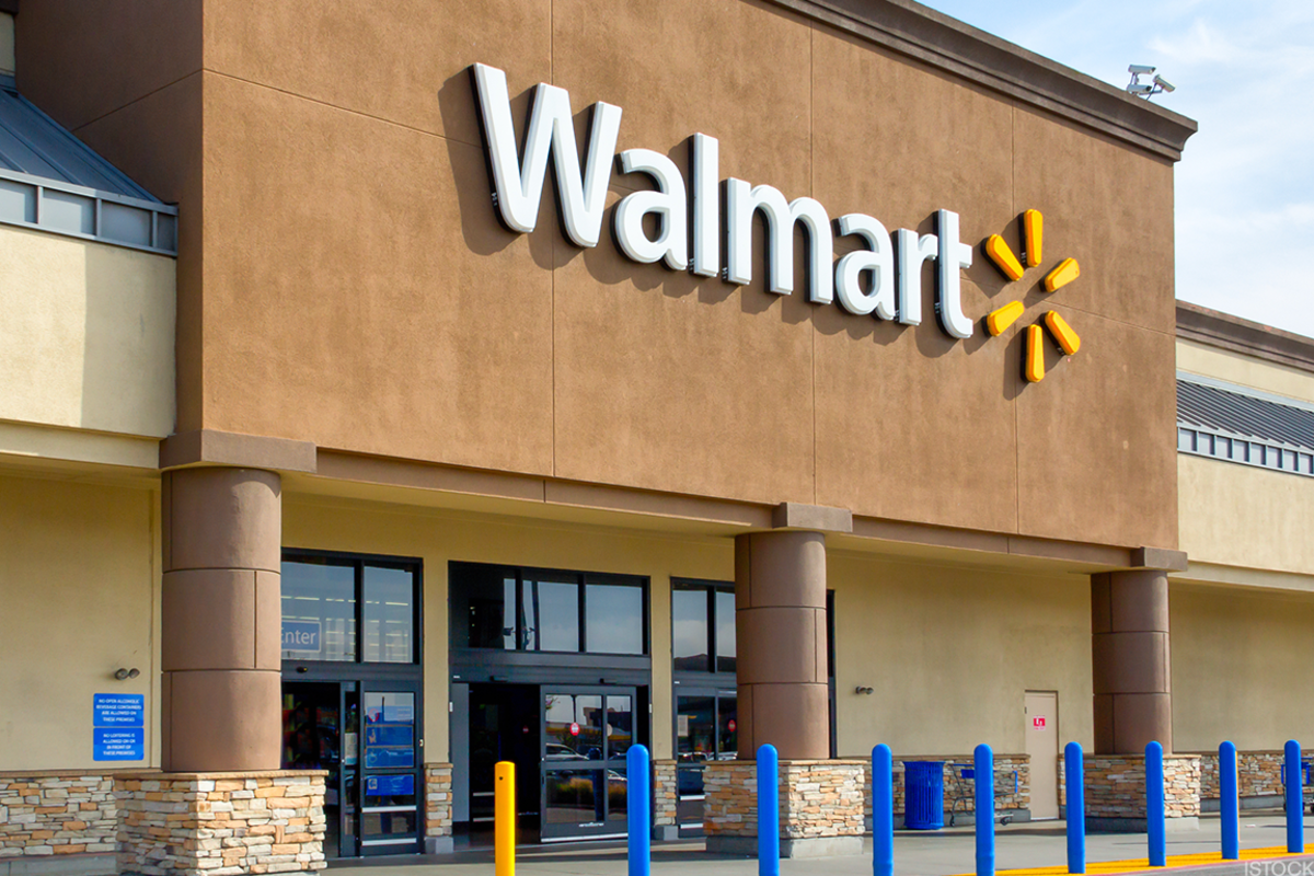 Wal-Mart's stock has been crushing it recently.