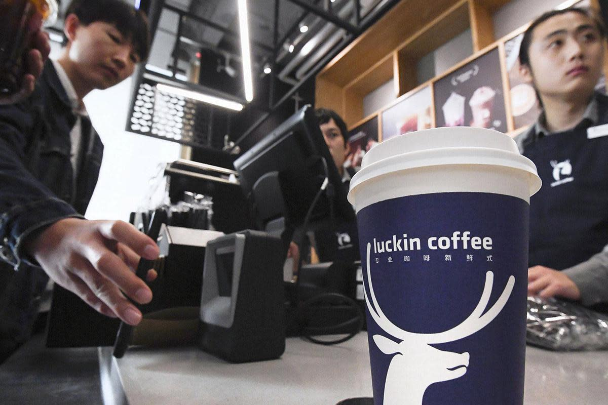 Luckin Coffee Gets Lift From Price Target Boost to $42 ...
