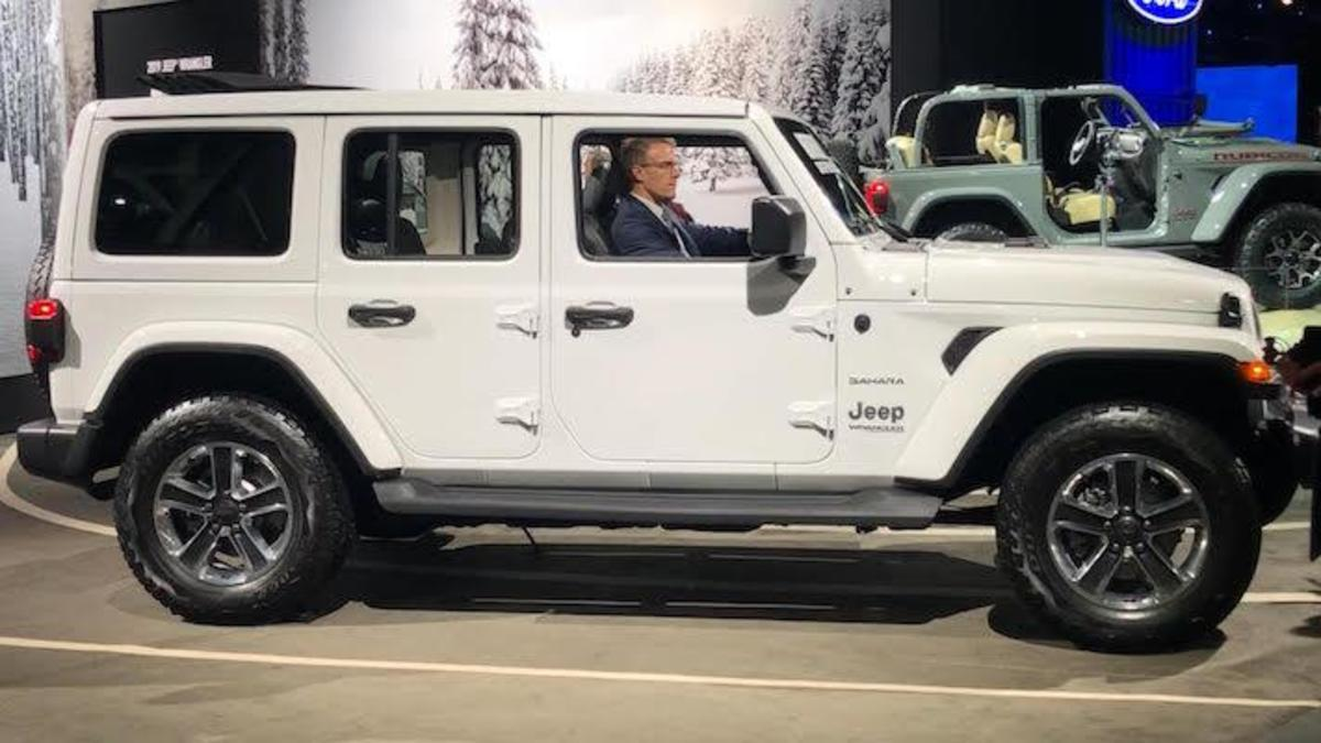 2019 4-door Jeep Wrangler Sahara