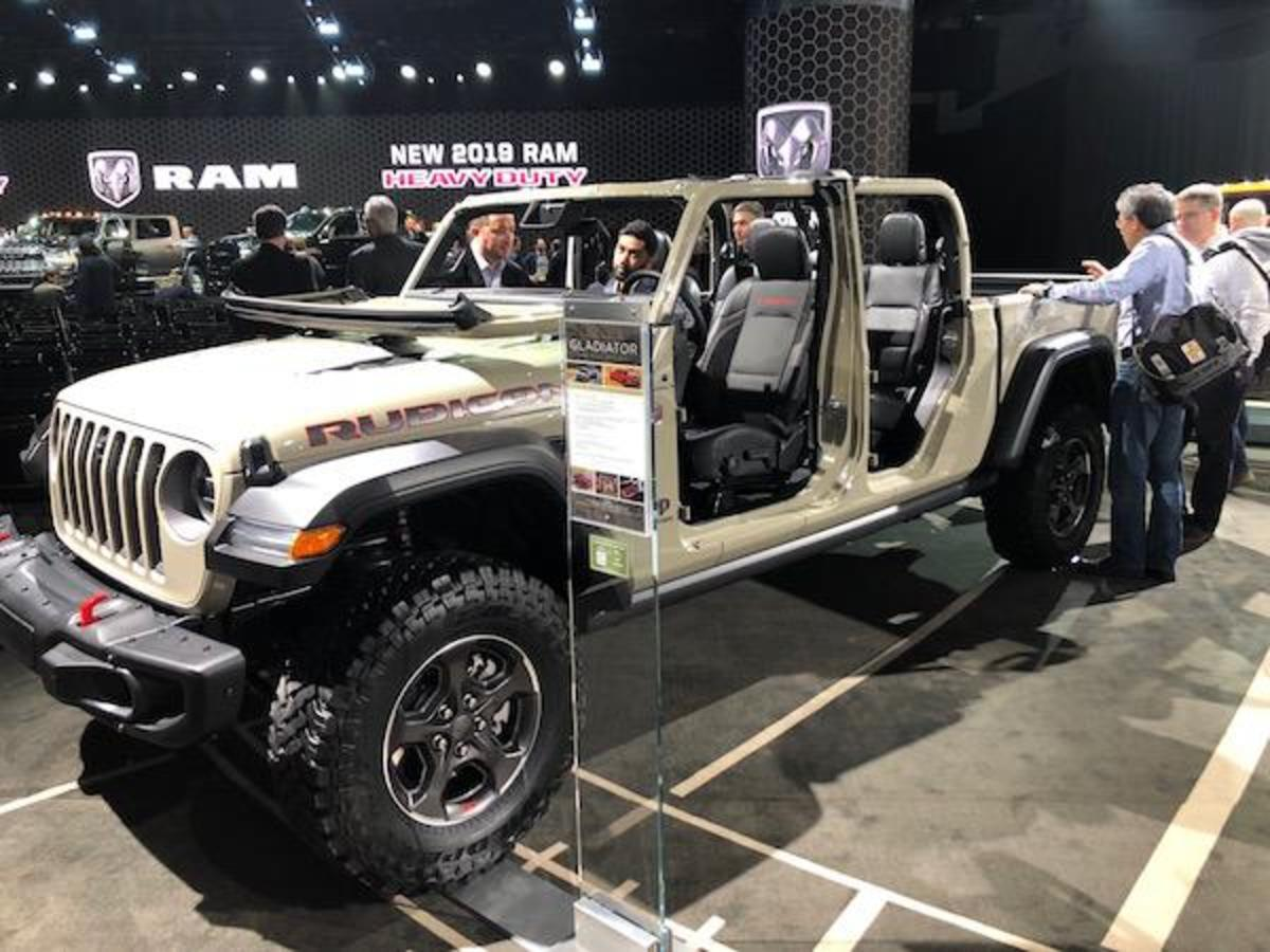 2019 Jeep Gladiator Rubicon (available Spring 2019)