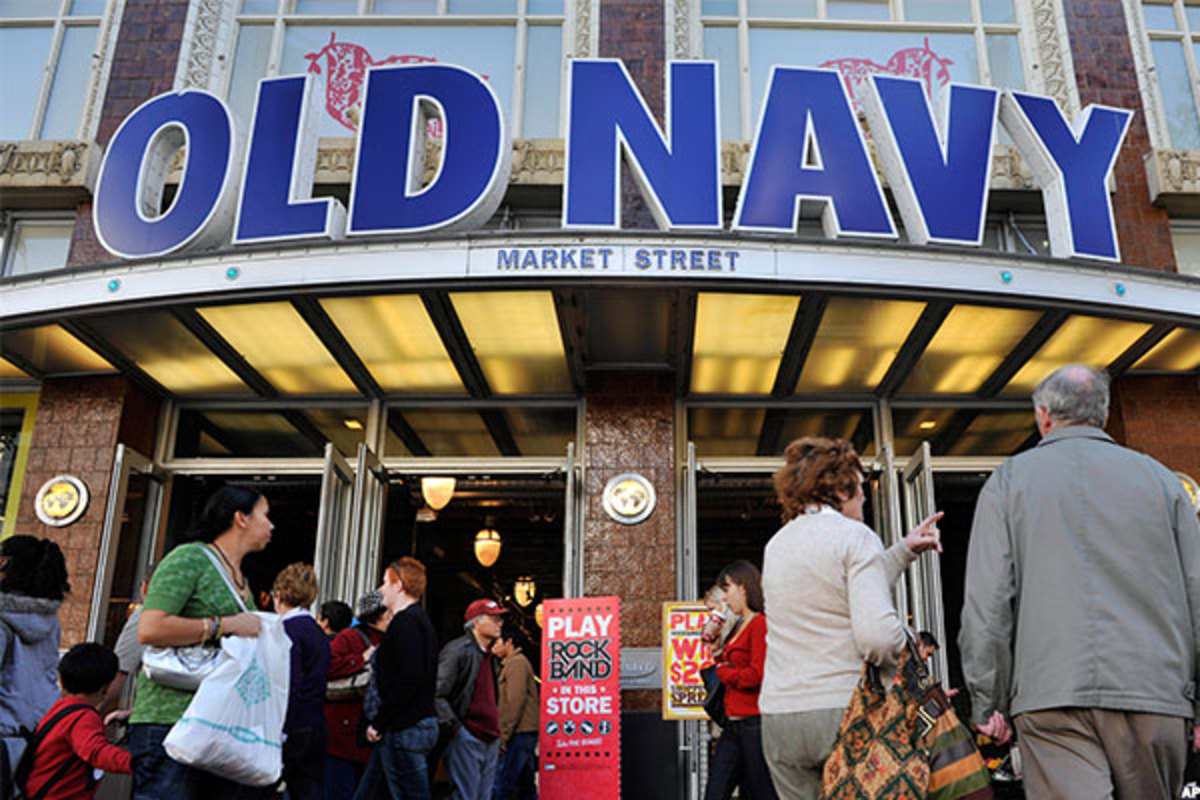 Old Navy saw a 9% gain in same-store sales.
