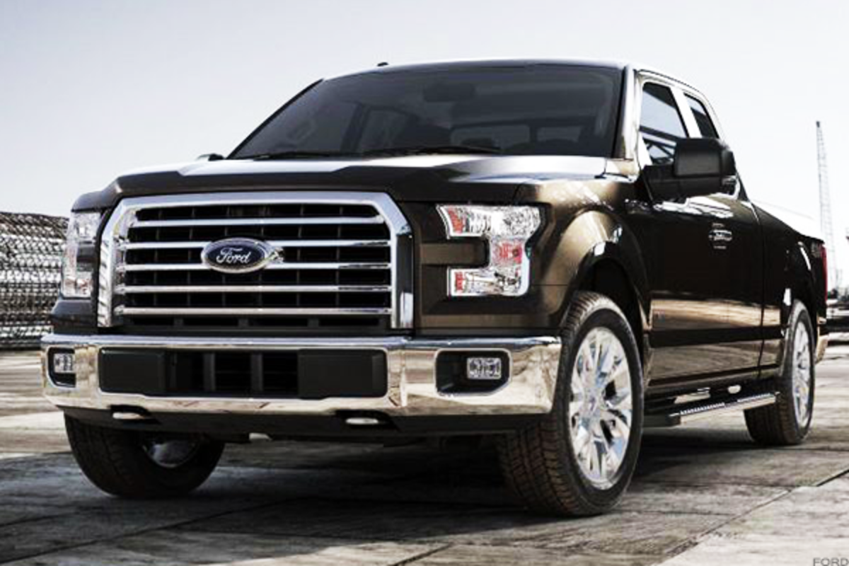 The Ford F-Series is the best-selling vehicle in the U.S.