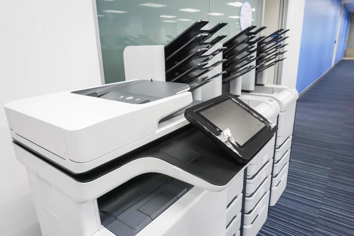 Xerox making some news Thursday.