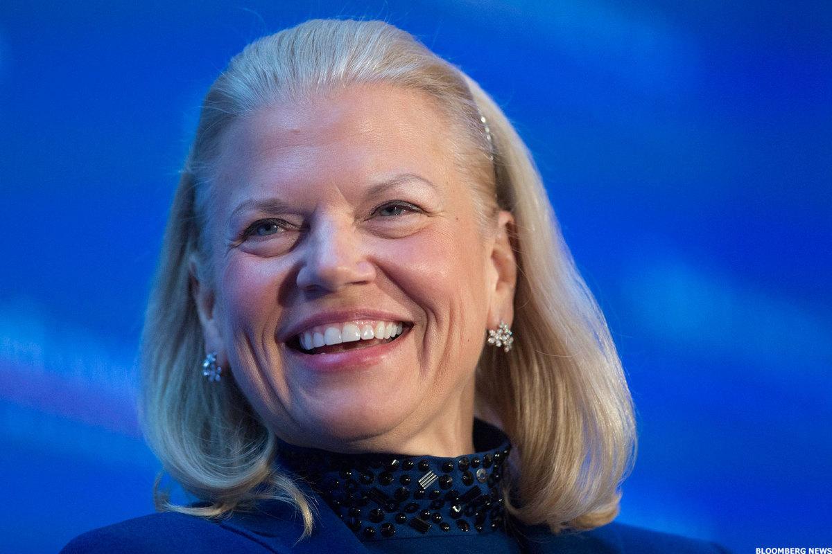 IBM CEO, Ginni Rometty.