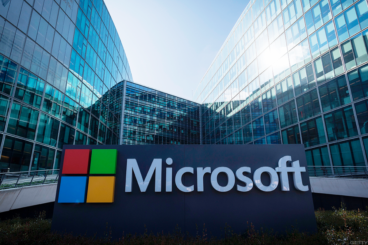 Microsoft's stock has been showing signs of life recently.
