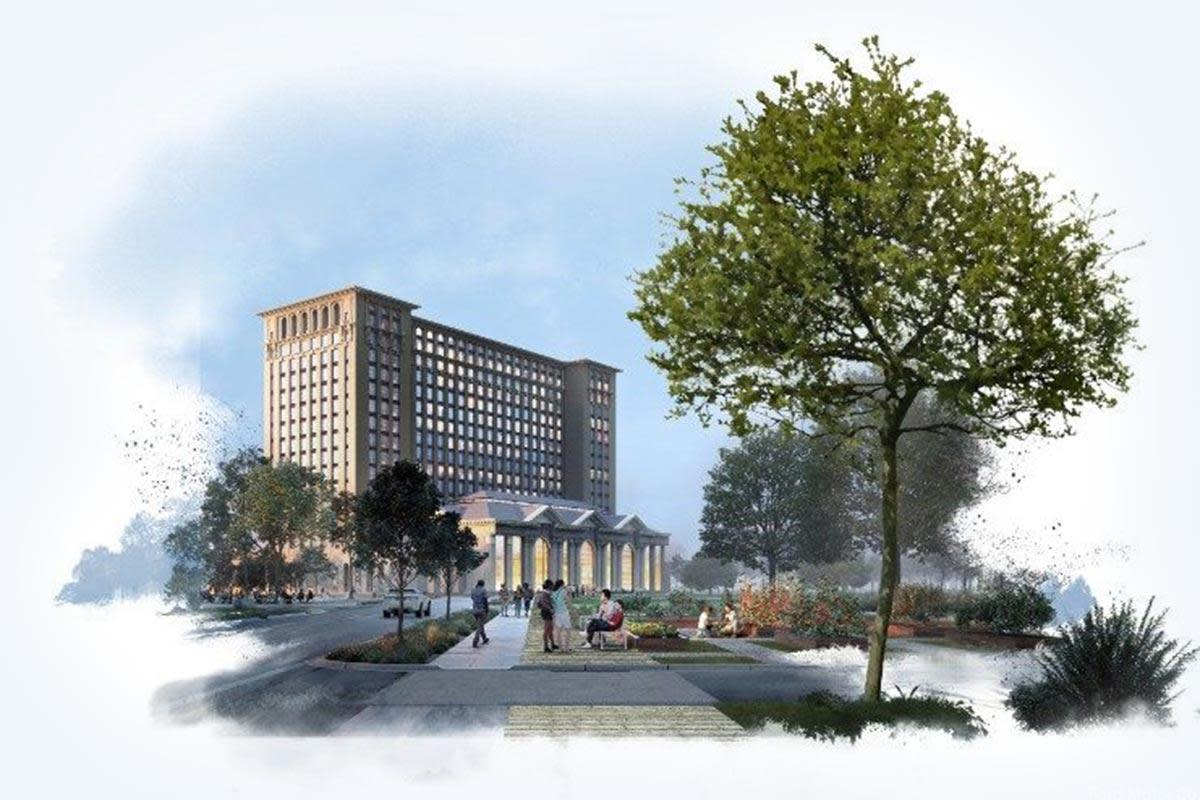 Rendering of Michigan Central Station | Source: Ford Motor Co.