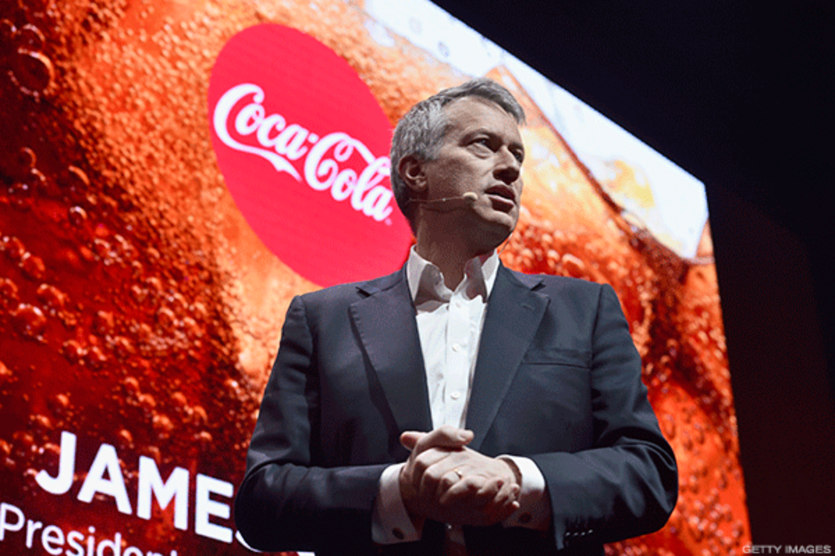Coca-Cola CEO James Quincey continues to transform the drink maker.