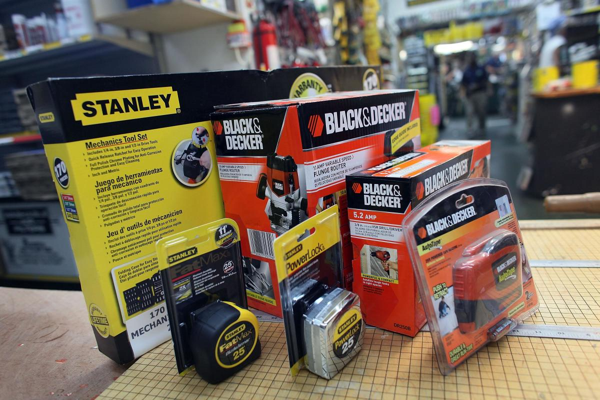 One more brand joins the large Stanley Black & Decker portfolio.