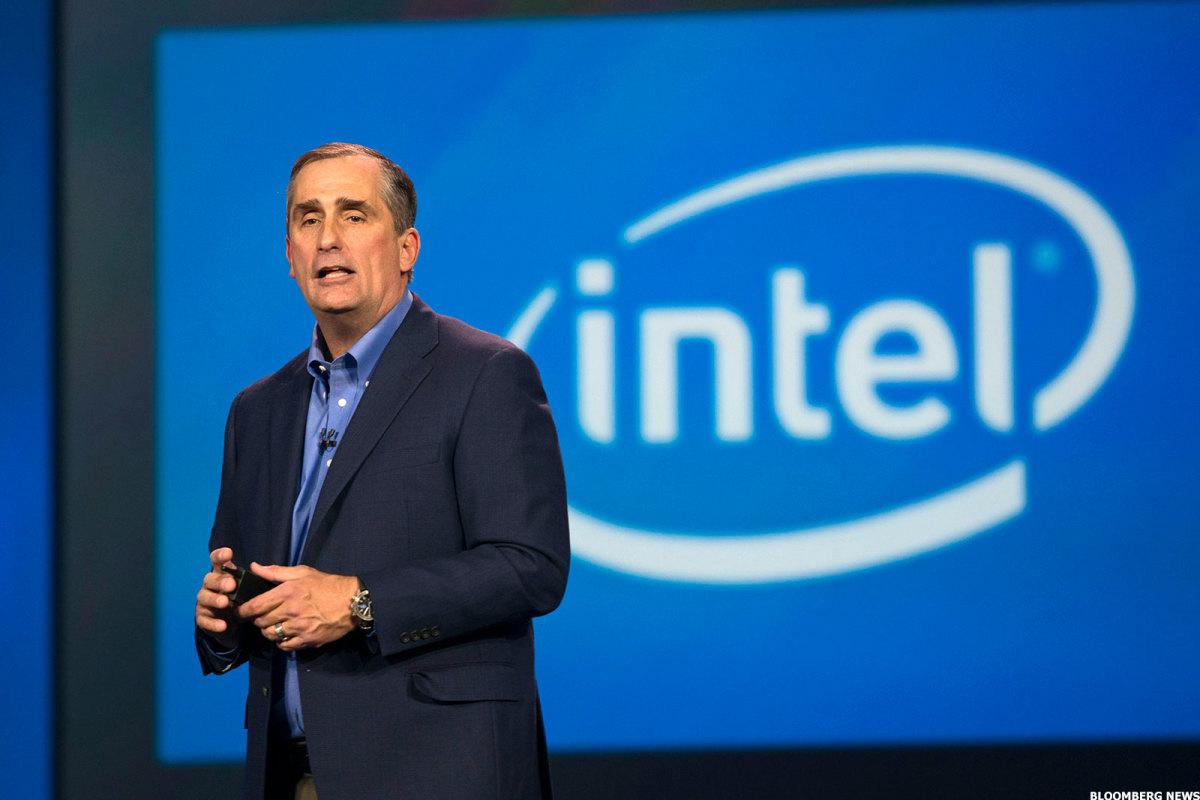Intel CEO, Brian Krzanich.