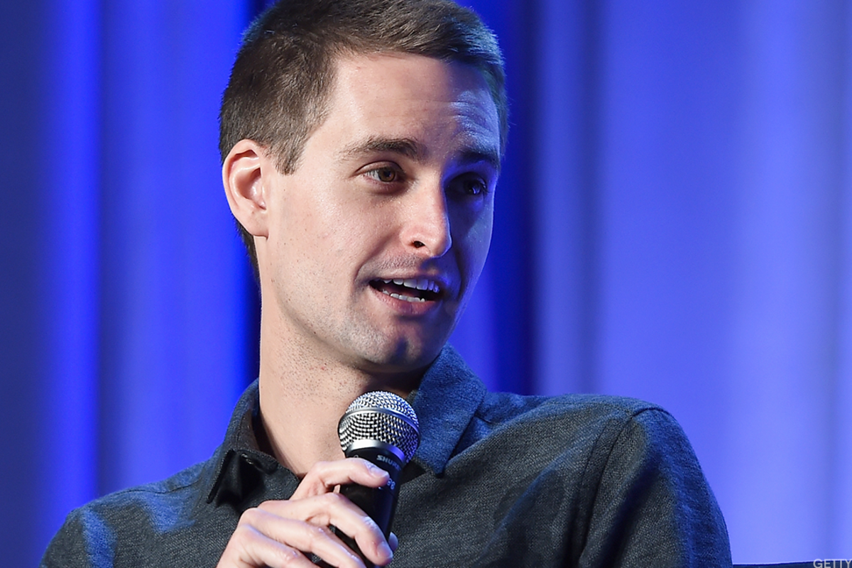 Snap Inc CEO and co-founder Evan Spiegel