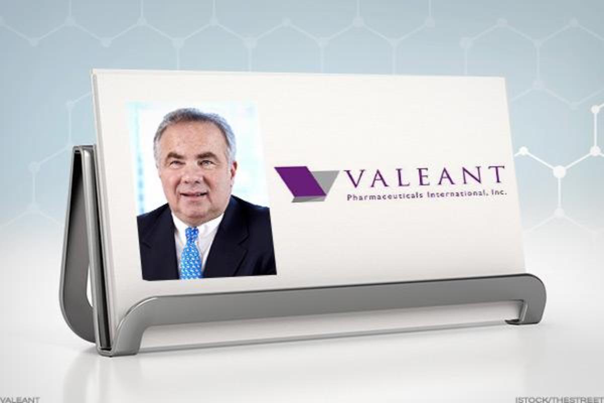 Valeant CEO Joseph Papa