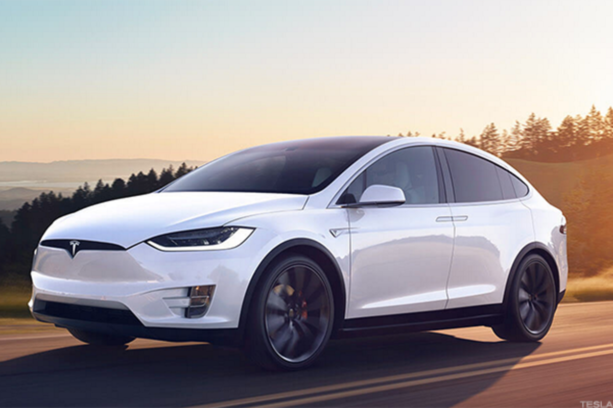 The Model X is quite popular in China.