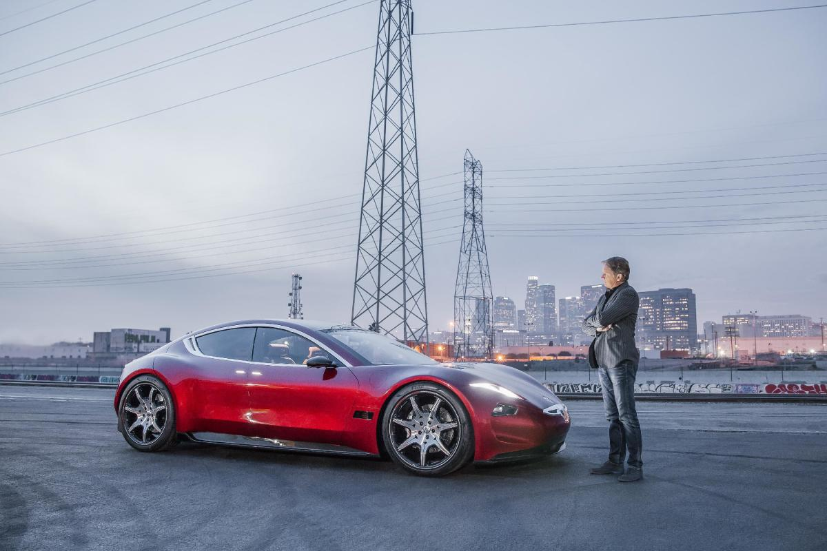 The EMotion is CEO Henrik Fisker's first electric vehicle since his last model, the Fisker Karma, went bust in 2011.
