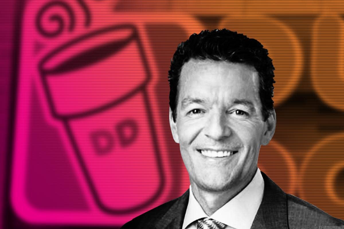 David Hoffmann, New Dunkin' Brands CEO.