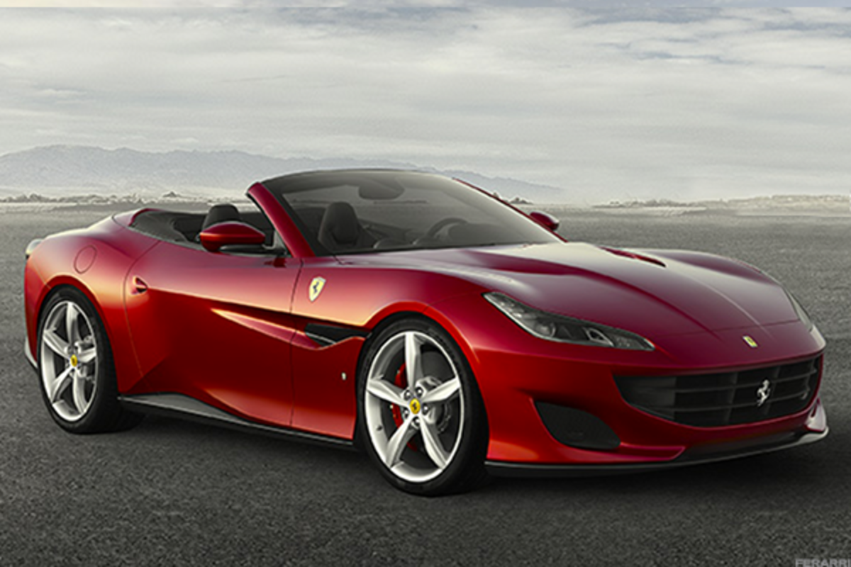 The new Ferrari Portofino will begin in Q2 of this year.