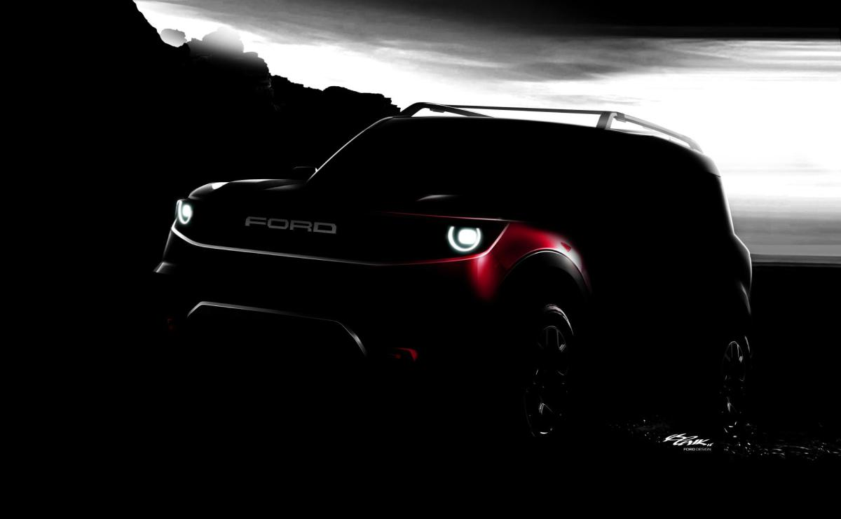 Ford's all-new yet-to-be named off-road SUV. Courtesy: Ford Motor Co.