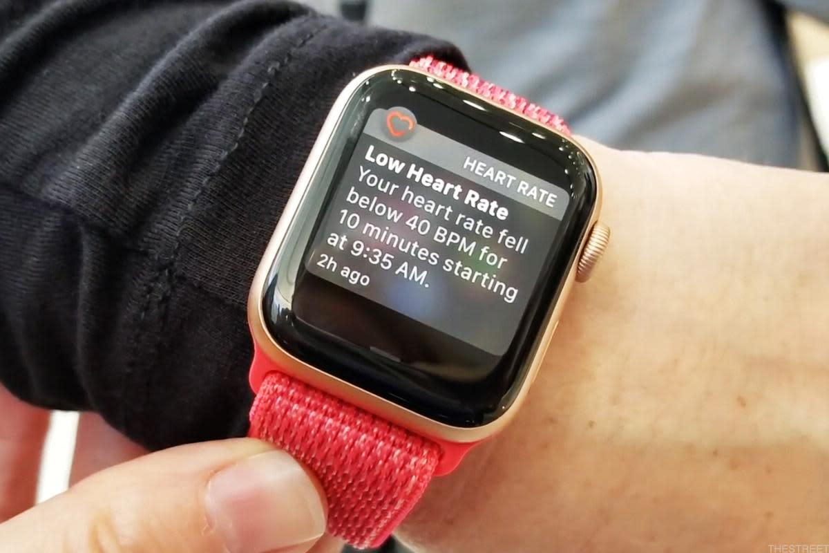 The Apple Watch 4 can alert you when it detects irregular heart beat activity.