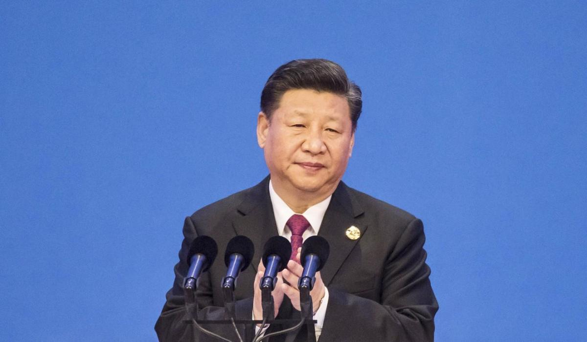 Xi Jinping on Monday evening. Source: South China Morning Post