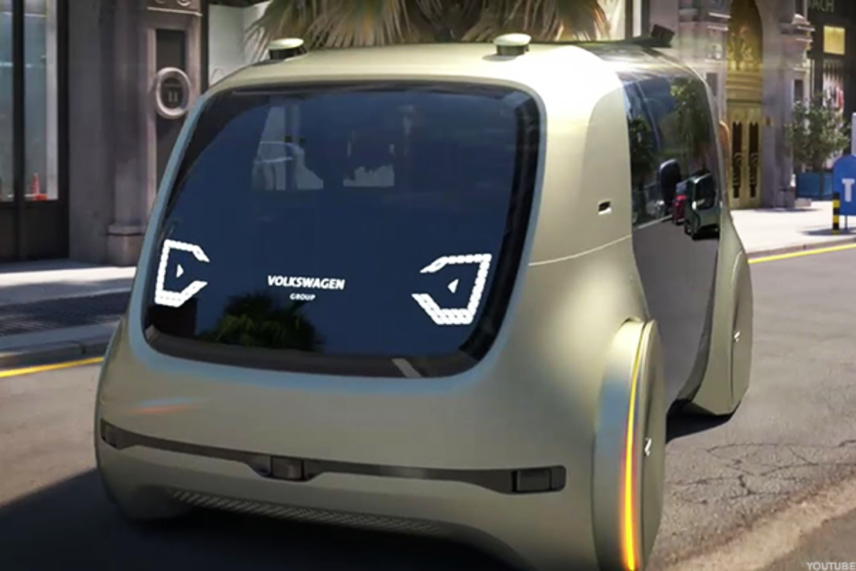 A concept vehicle from Volkswagen