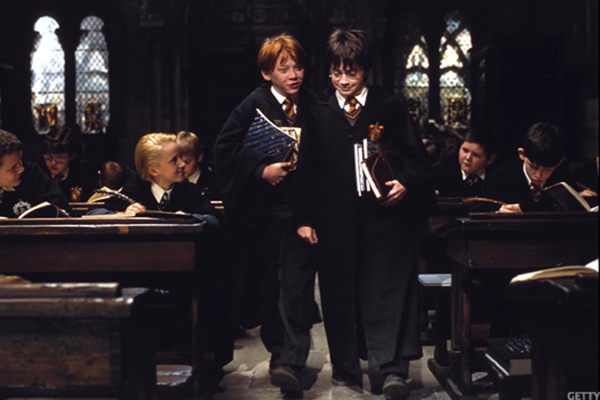 Amazon reports that hot items this Black Friday include a complete Harry Potter collection on Blu-Ray.
