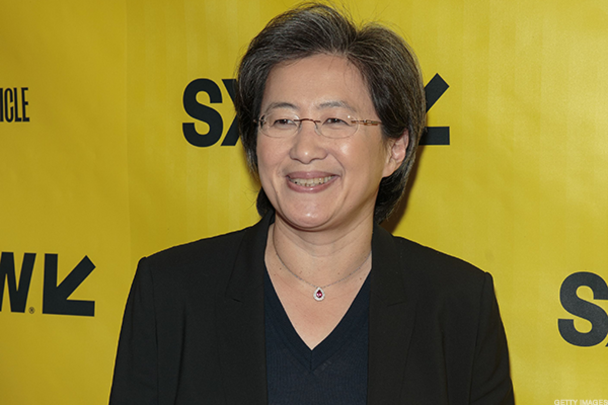 Lisa Su has been AMD's president and CEO since 2014.