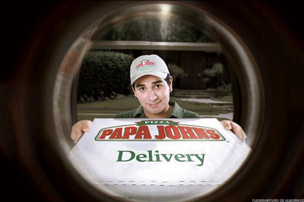 Papa John's should deliver the company to the doorstep of JAB Holdings.