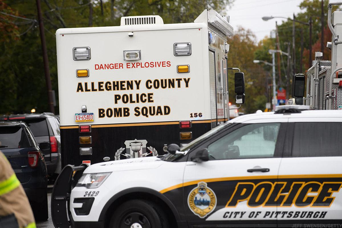 The country bomb squad was at the scene.