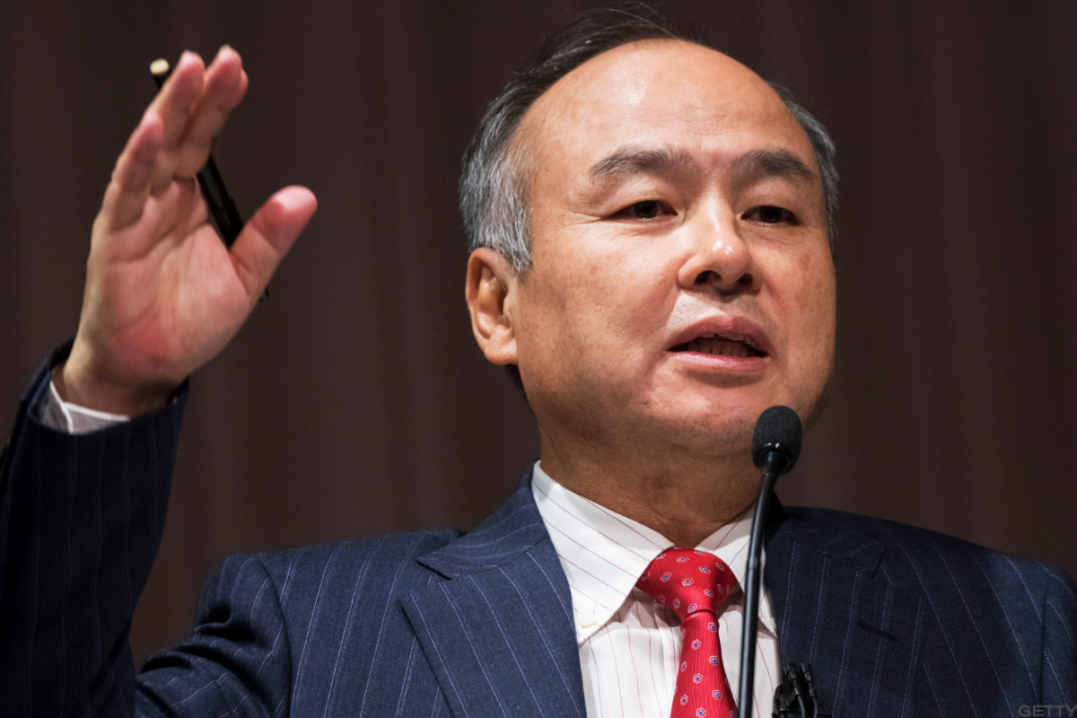 Softbank's Masayoshi Son.