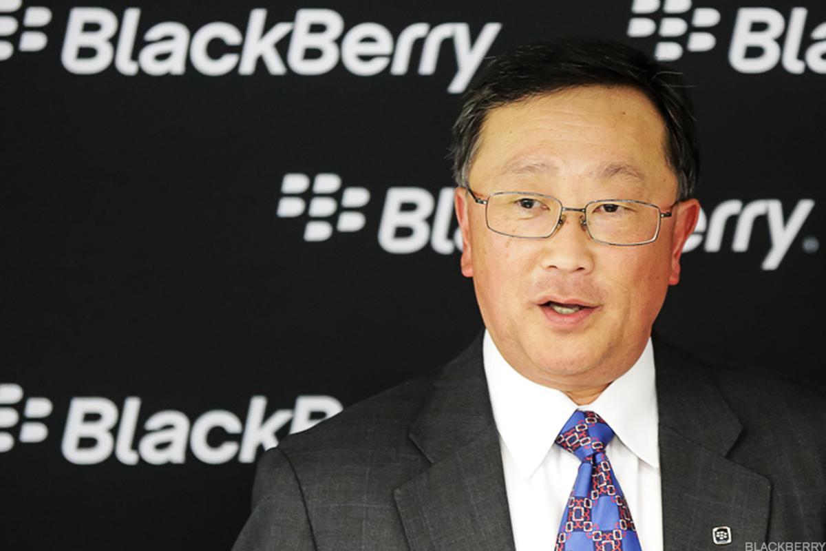 BlackBerry CEO John Chen