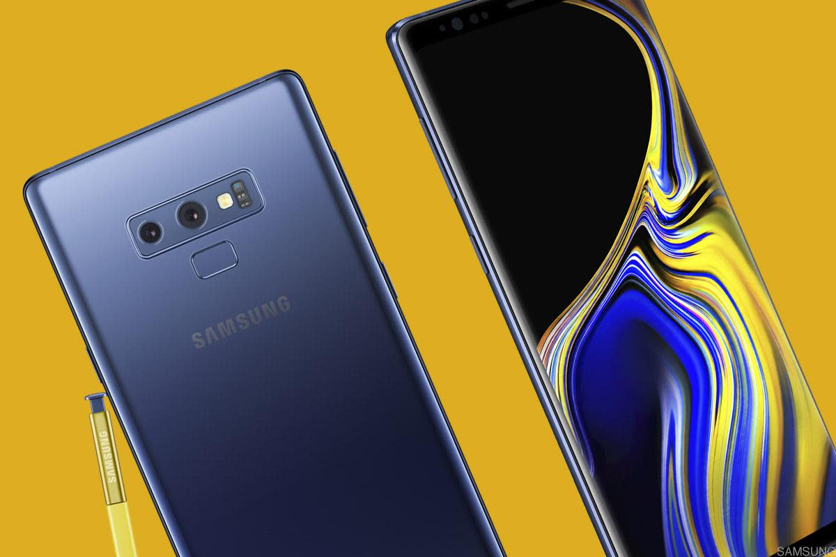 The Samsung Galaxy Note 9 has a longer-lasting battery and a slightly larger screen than its predecessor.