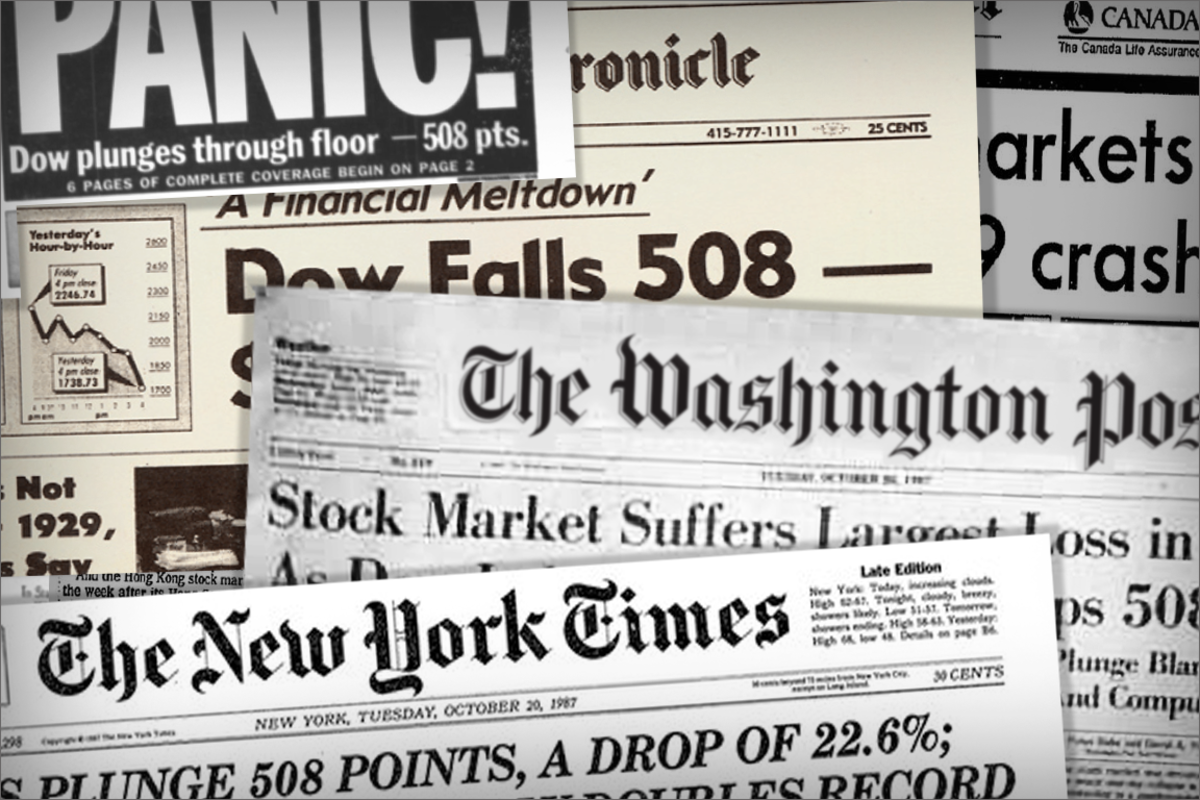 Biggest Stock Market Crashes in History - TheStreet