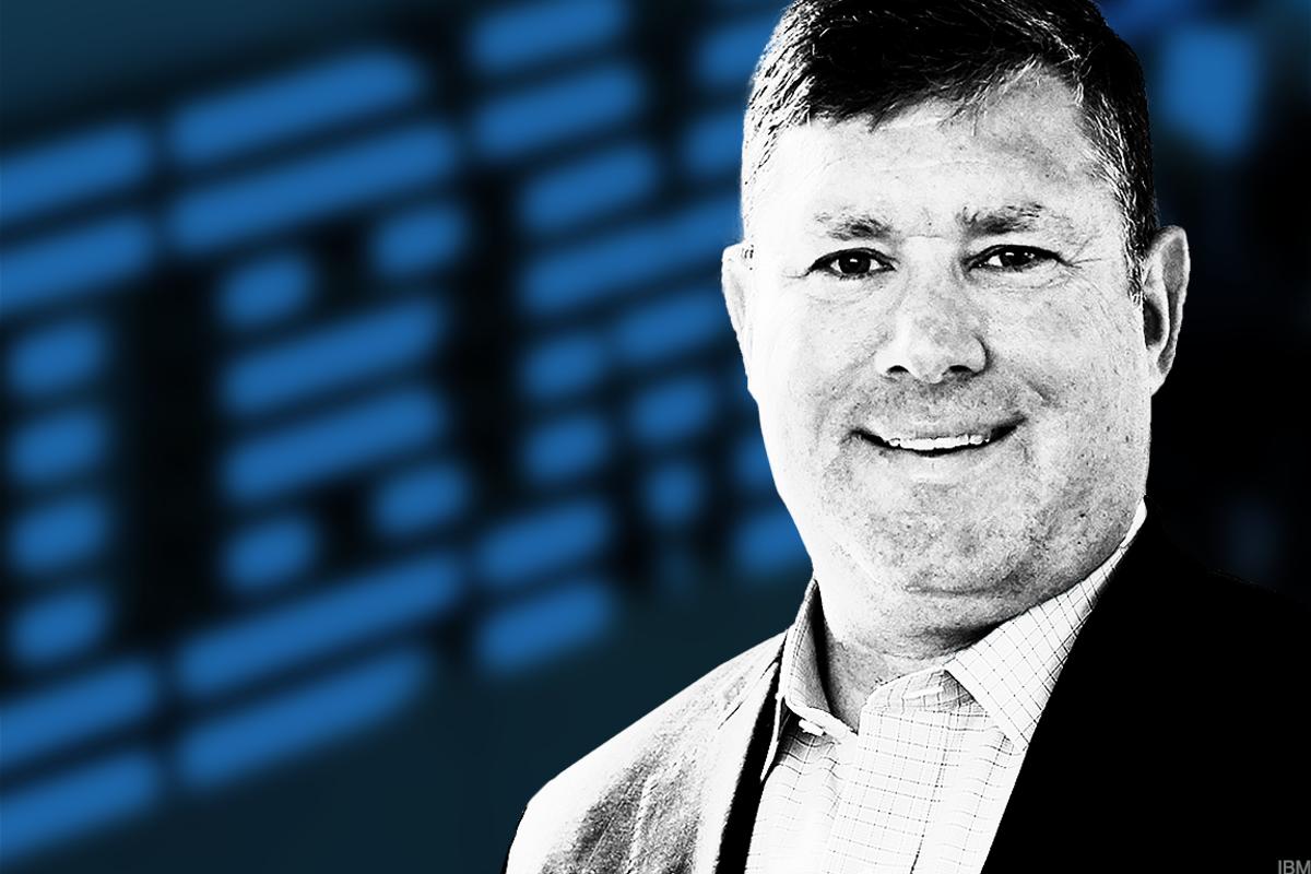 James Kavanaugh, IBM CFO.