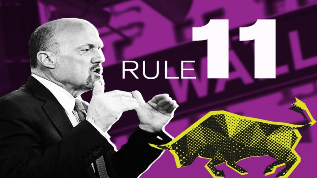 "Jim Cramer's Rule #11: ""Don't Own Too Many Stocks"