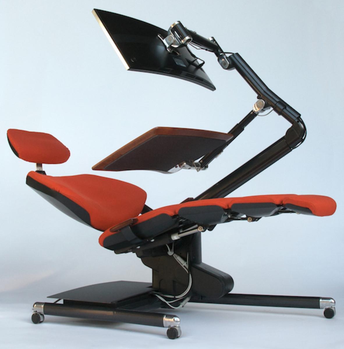 Zero Gravity Desk Review Display