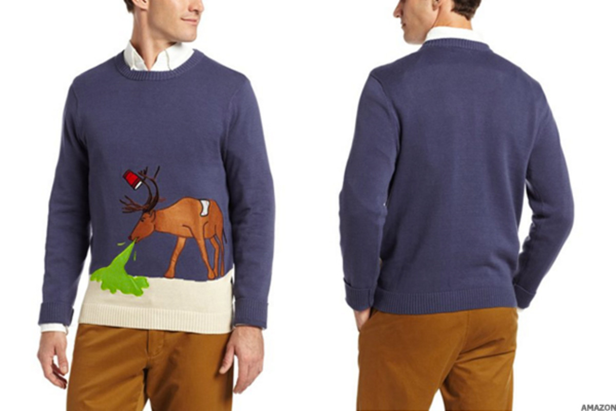 16 Hilarious 'Ugly' Holiday Sweaters You Can Actually Buy on
