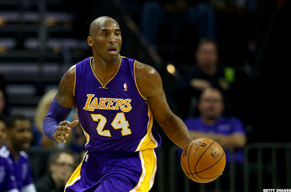 Kobe Bryant Gear Pulled From Nike Online Store