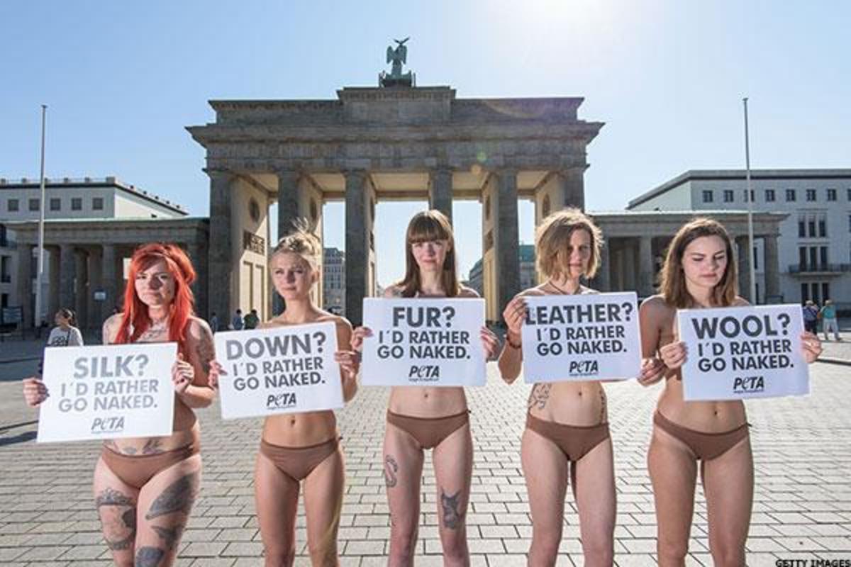 Alicia silverstone goes nude for peta campaign