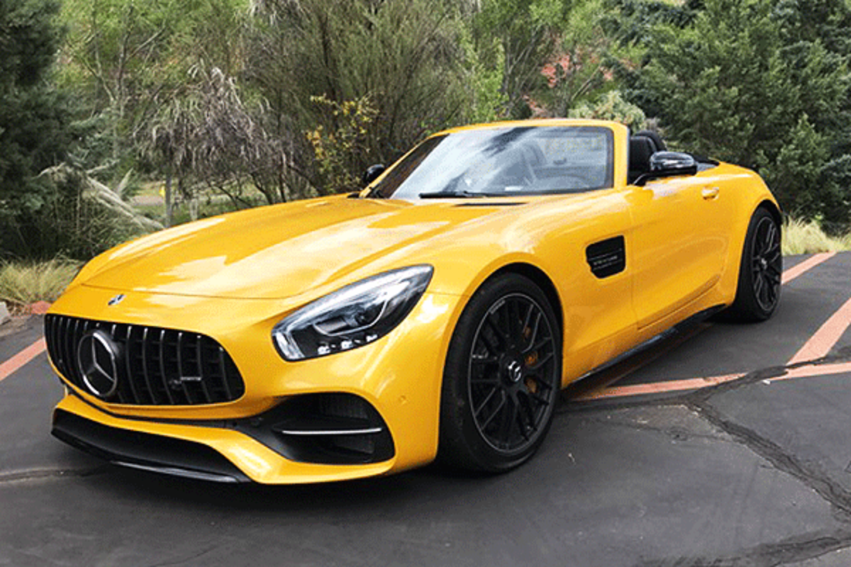 Mercedes Amg Gtc Roadster Epitomizes Its Ceo S Challenge To Bmw Thestreet